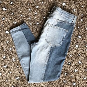 ✰ F21 Two Toned Skinny Jeans ✰